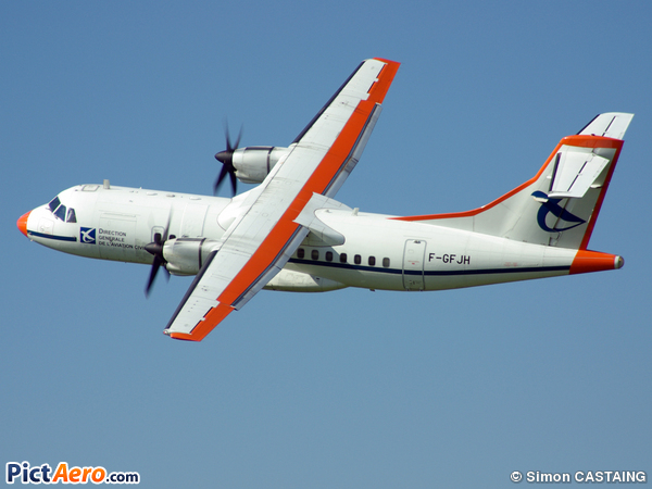 ATR 42-300 (France - Direction Générale de l'Aviation Civile)