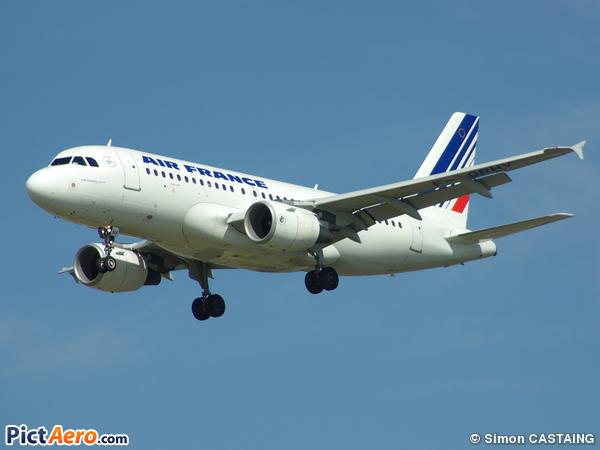 Airbus A319-111 (Air France)