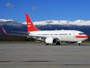 Boeing 737-7AK/BBJ (HB-IIO)