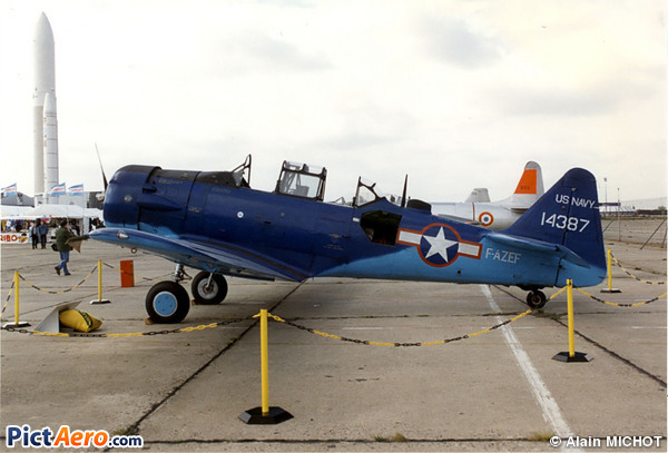 North American T-6G (Chable Didier)