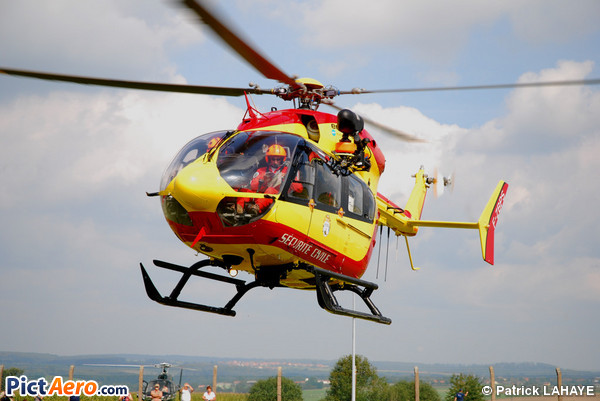 Eurocopter EC-145 B (France - Sécurité Civile)