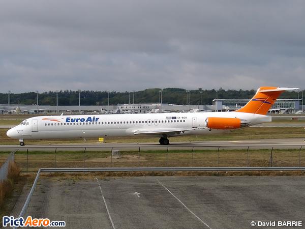 McDonnell Douglas MD-83 (DC-9-83) (EuroAir)