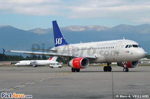 Airbus A319-131 (Scandinavian Airlines (SAS))