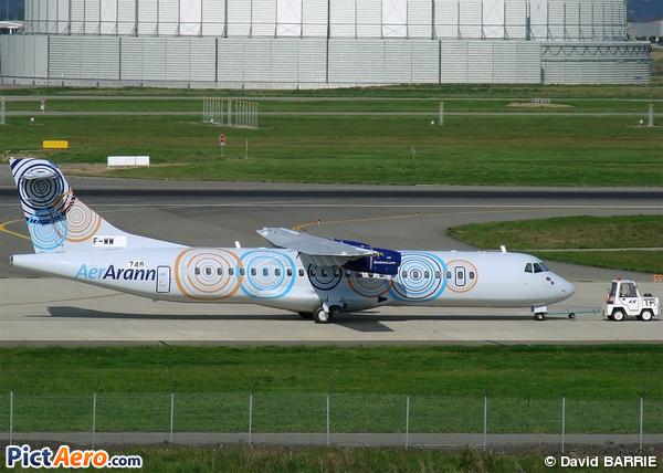 ATR 72-500 (ATR-72-212A) (Aer Arann)