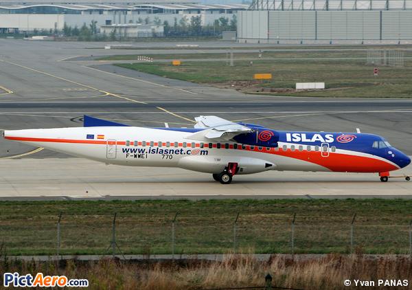ATR 72-500 (ATR-72-212A) (Islas Airways)