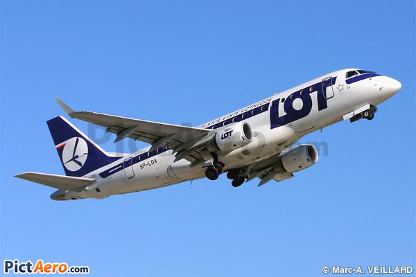 Embraer ERJ-170ST (LOT Polish Airlines)