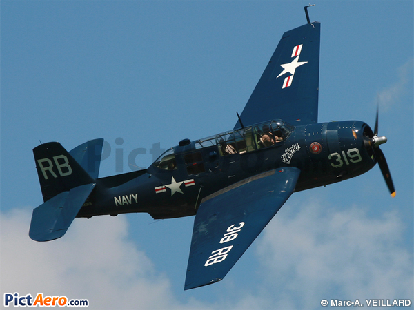 Eastern Aircraft TBM-3R Avenger (Trachsel Charles)