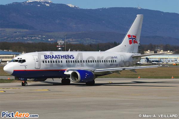 Boeing 737-505 (SAS Braathens)