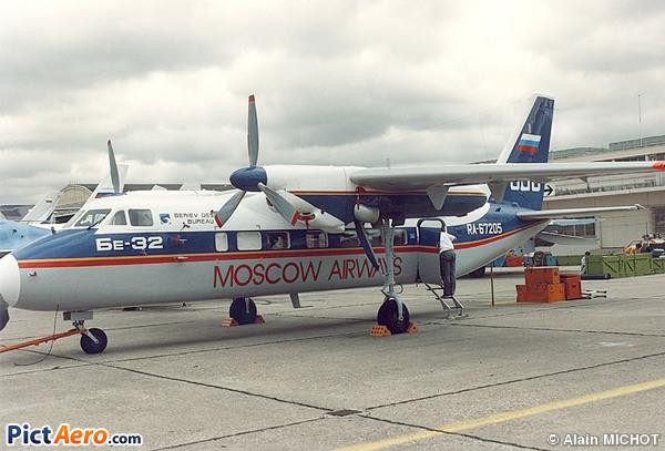 Beriev Be-32 (Moscow  Airways)