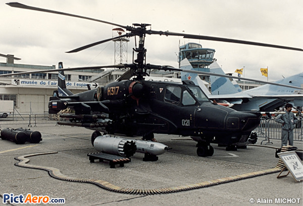 Kamov Ka-50 Black Shark (Russia - Air Force)