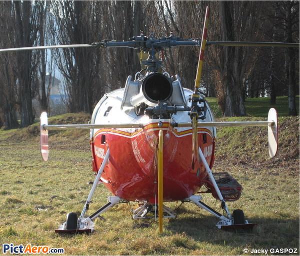 Sud SE-3160 Alouette III (Air Glaciers)