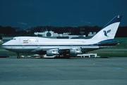 Boeing 747SP-86 (EP-IAB)