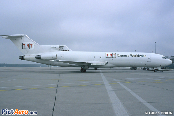 Boeing 727-224(Adv)(F) (Sterling European Airlines)