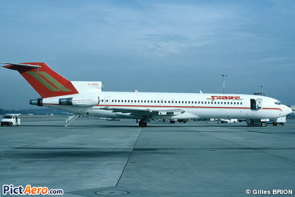 Boeing 727-276/Adv (Sabre Airways)