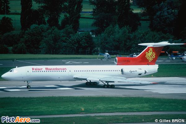 Tupolev Tu-154B-1 (Palair Macedonian)