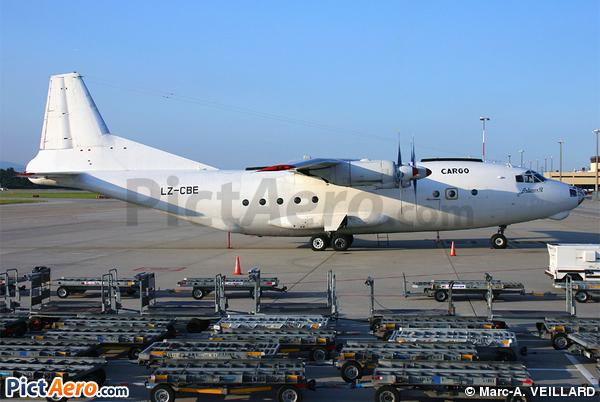 Antonov An-12B (Heli Air Services)