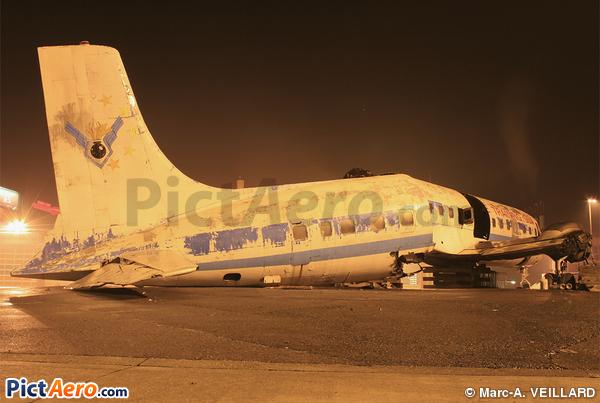 Douglas DC-7C Seven Seas (Aéroport International de Genève)