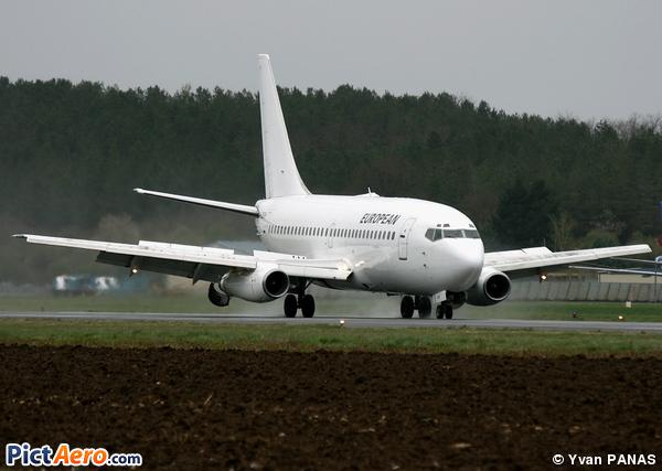 Boeing 737-229/Adv (European Aviation Air Charter)