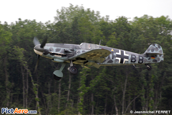 Messerschmitt Bf-109 G-6 (EADS - Messerschmitt Stiftung)