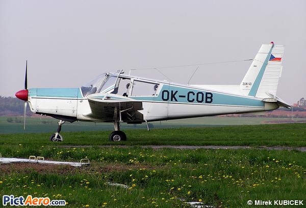 Zlin Z-43 (Aeroklub Ceske Republiky)