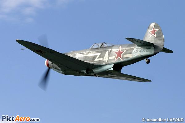 Yakovlev Yak-3UA (Chauveau Georges)