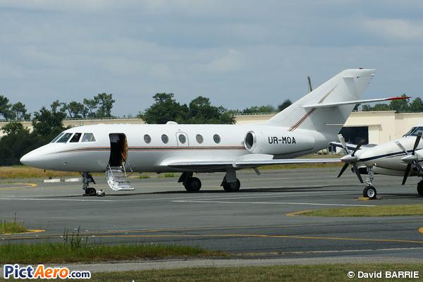 Dassault Falcon 20D-5 (ISD Avia Aircompany)