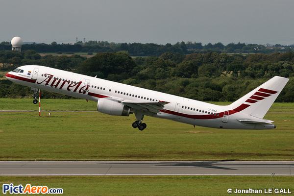 Boeing 757-23N (Aurela)
