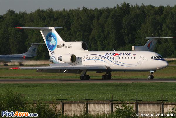 Yakovlev Yak-42 (Saravia - Saratov Airlines)