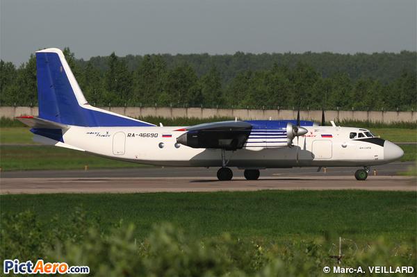 Antonov An-24RV (Polet Aviakompania)