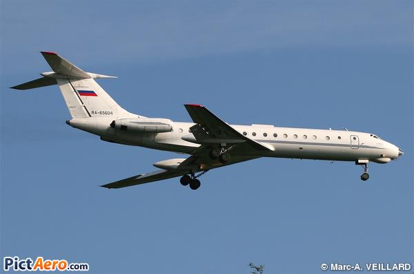 Tupolev Tu-134AK-3 (Sirius-Aero)