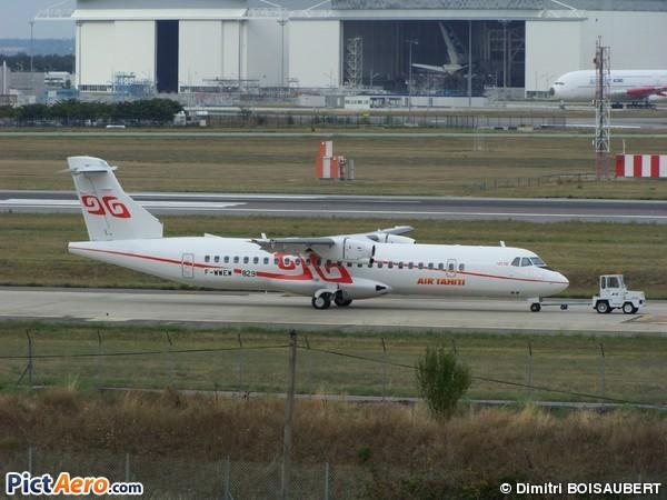 ATR 72-500 (ATR-72-212A) (Air Tahiti)