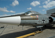 Messerschmitt F-104G Starfighter (22+40)