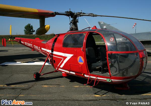 Sud SE-3160 Alouette III (France - Sécurité Civile)