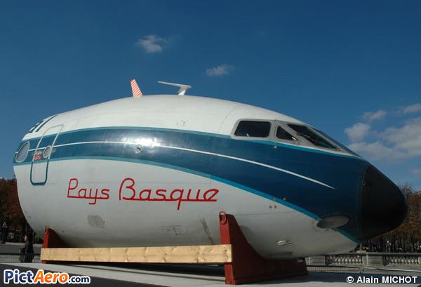 Sud SE-210 Caravelle III (CIV - Centre d'instruction de Vilgénis)