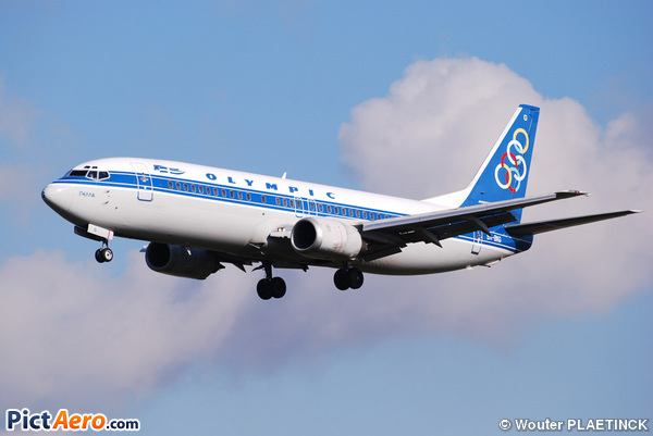 Boeing 737-484 (Olympic Airlines)
