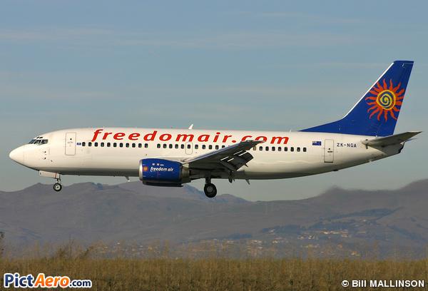 Boeing 737-33R (Freedom Air International)