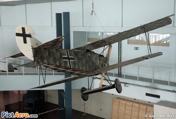 Fokker D-VII (Musée de l'Air et de l'Espace du Bourget)