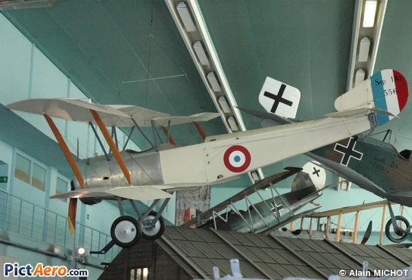 Sopwith 1 1/2 A2 Strutter (Musée de l'Air et de l'Espace du Bourget)