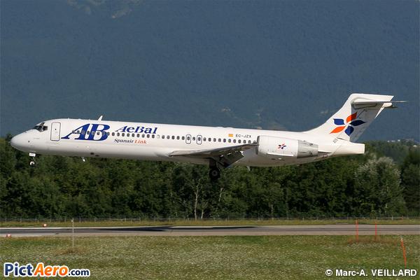 Boeing 717-23S (AeBal - Spanair Link)