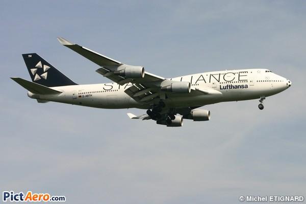 Boeing 747-430M (Lufthansa)