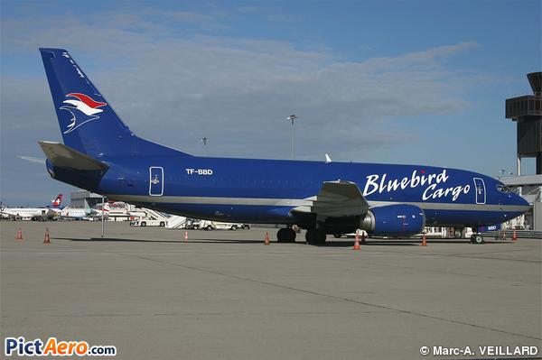 Boeing 737-3Y0 (Bluebird Cargo)