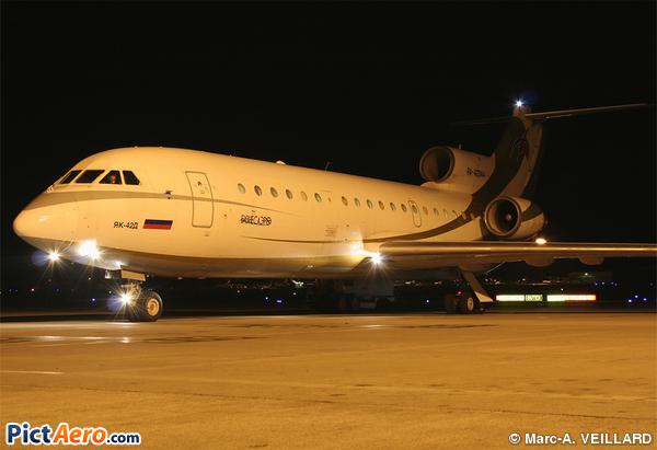 Yakovlev Yak-42 (Business Aero)