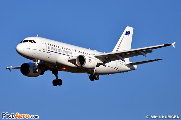 Airbus A319-112/CJ (Italy - Air Force)