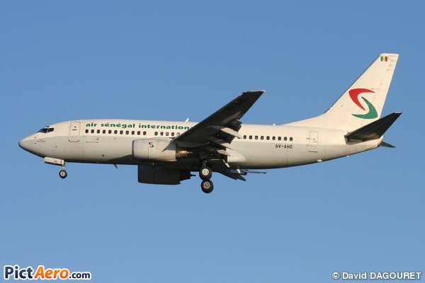 Boeing 737-7BX (Air Sénégal International)