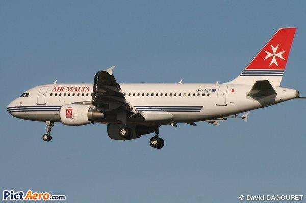 Air Malta livrée actuelle
