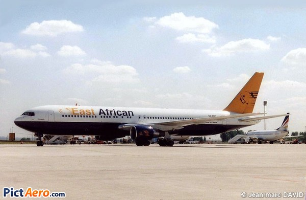 Boeing 767-31A/ER (East African)