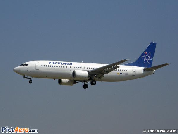 Boeing 737-4K5 (Futura International Airways)