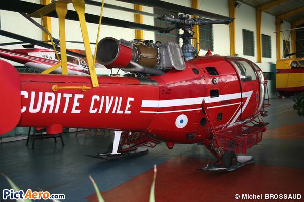 Aérospatiale SA-316B Alouette III (France - Sécurité Civile)