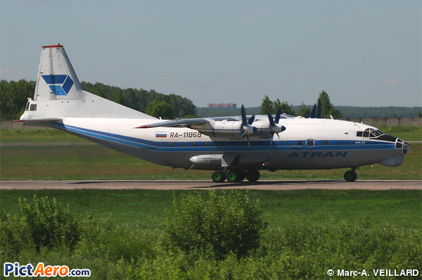 Antonov An-12BP (Atran - Aviatrans Cargo Airlines)