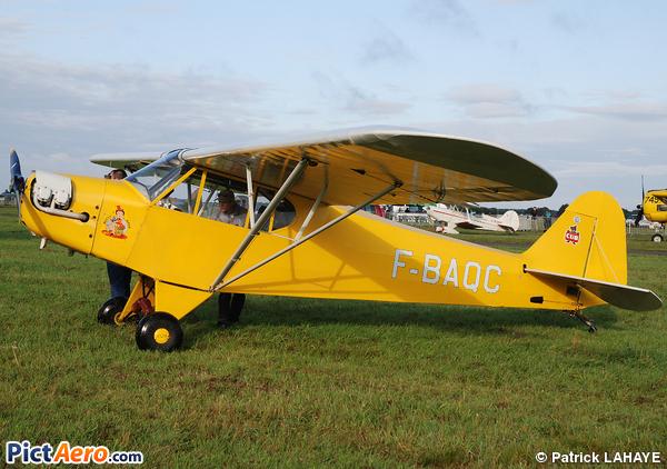 Poullin PJ-5B Cub (Association Amicale Alençonnaise des Avions Anciens) 8abbb6b8228
